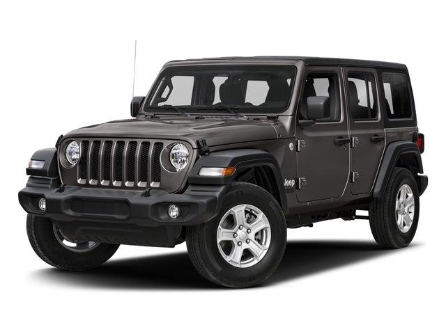 Jeep >> New 2018 Jeep Wrangler Pinehurst Nc 1c4hjxdg4jw303636